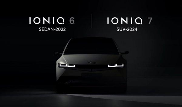 Foto Teaser Hyundai IONIQ 6 dan IONIQ 7