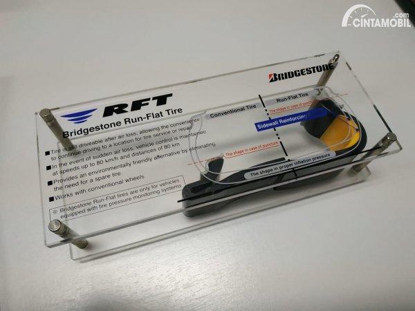 Foto komponen dalam ban RFT