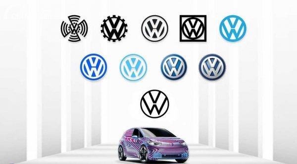 logo Volkswagen dari masa ke masa