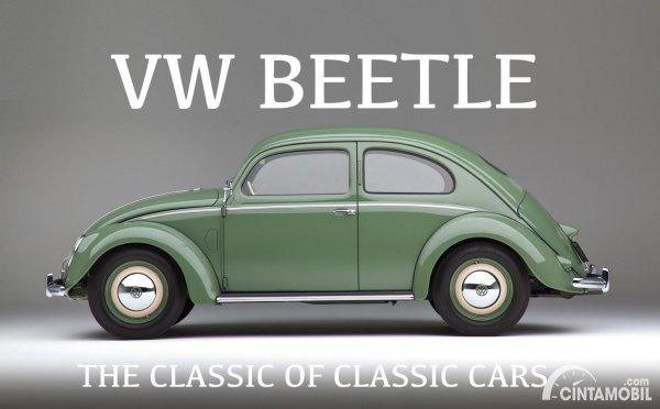 Volkswagen Beetle terbaru yang dipasarkan