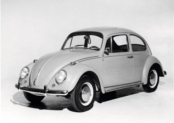 Volkswagen Beetle edisi pertama keluaran tahun 1938