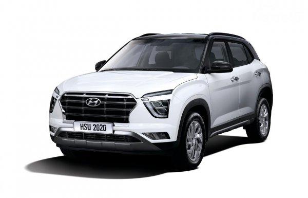 Gambar tampilan depan Hyundai Creta 2021