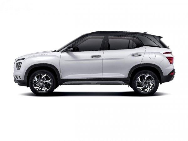 Gambar tampilan samping Hyundai Creta 2021