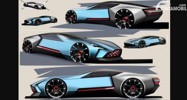 mobil James Bond Aston Martin Concept