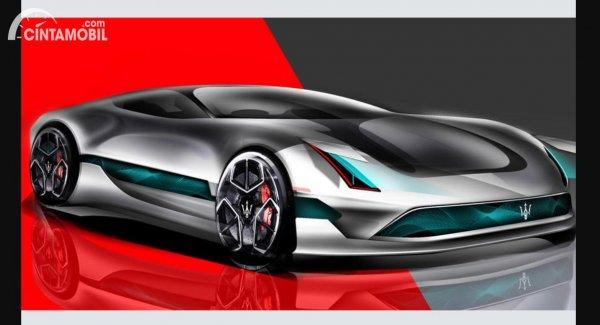 Maserati Bond Concept yang baru diperkenalkan