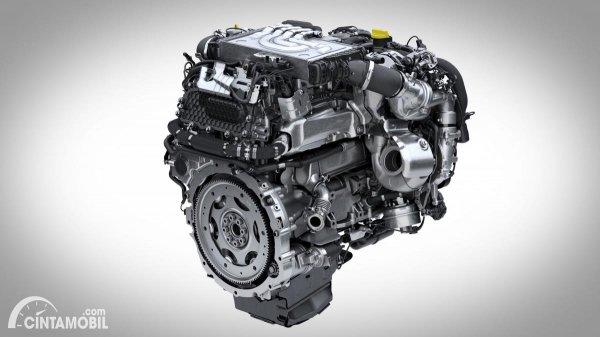 Gambar mesin mild hybrid Land Rover