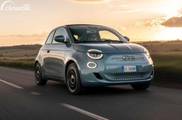 Gambar Fiat 500 Electric