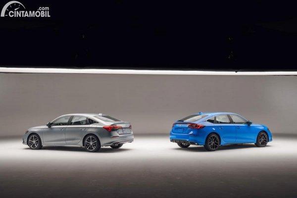 Gambar Honda Civic Hatchback dan Sedan