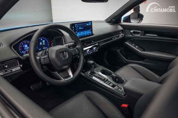 Gambar desain interior Civic Hatchback