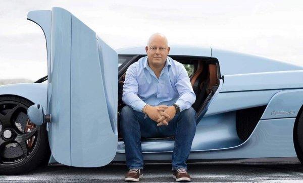 Gambar Christian von Koenigsegg