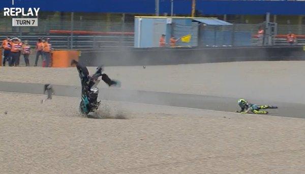 Gambar menunjukan motor MotoGP Belanda