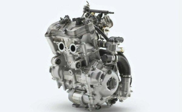Gambar menunjukan Mesin motor