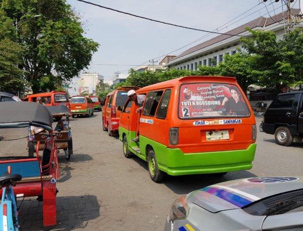 Foto salah satu Angkuta Kota Semarang