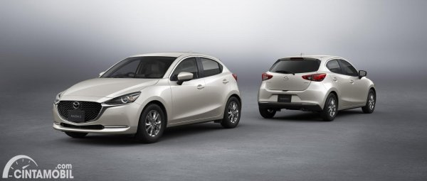 Gambar Mazda2 Facelift 2021