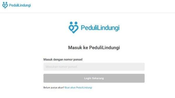 Gambar Website Peduli Lindungi
