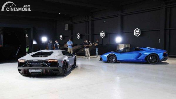 Gambar Aventador Ultimae Coupe dan Roadster