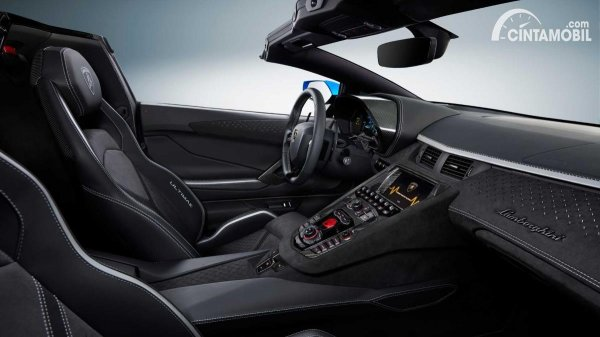 Gambar Interior Aventador Ultimae