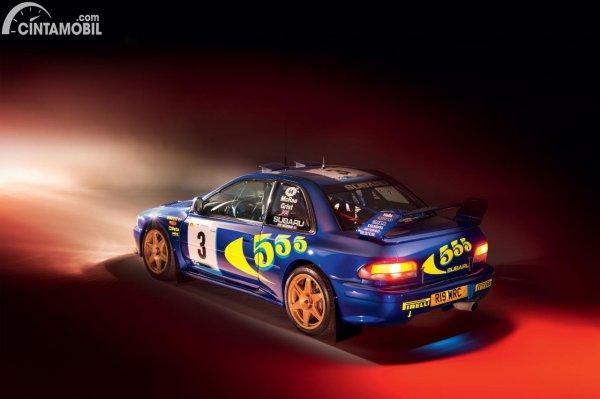 Gambar Subaru Colin McRae