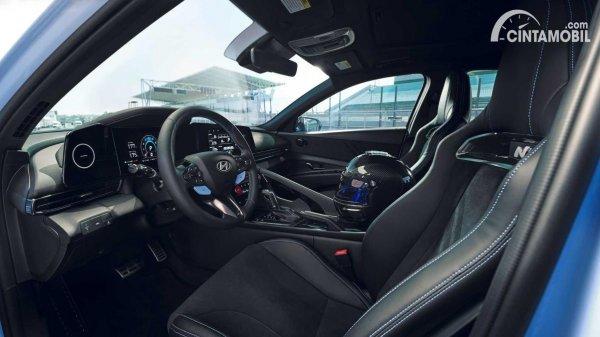 Gambar Interior Hyundai Elantra N