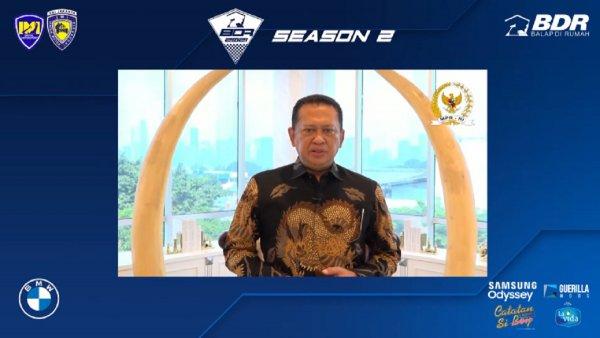 Gambar menunjukan Ketua IMI