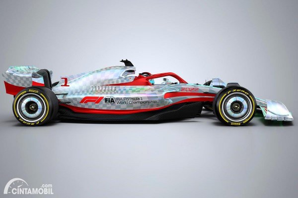 Gambar Mobil Balap F1 2022