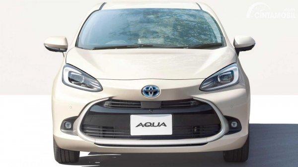 tampilan luar Toyota Aqua yang mirip Toyota Yaris