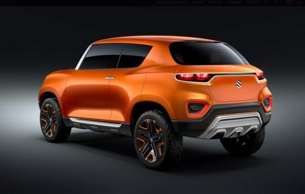 Foto menunjukkan Suzuki S Presso Concept
