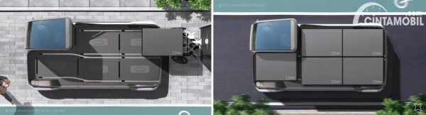 mobil listrik LINCS untuk jasa angkut barang