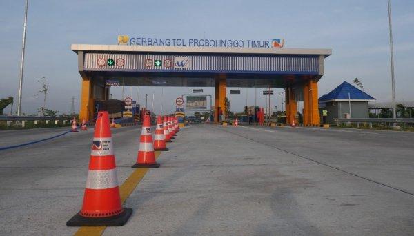 Foto Gerbang Tol Probolinggo-Timur