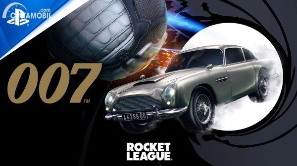 Gambar Aston Martin DB5 Rocket League