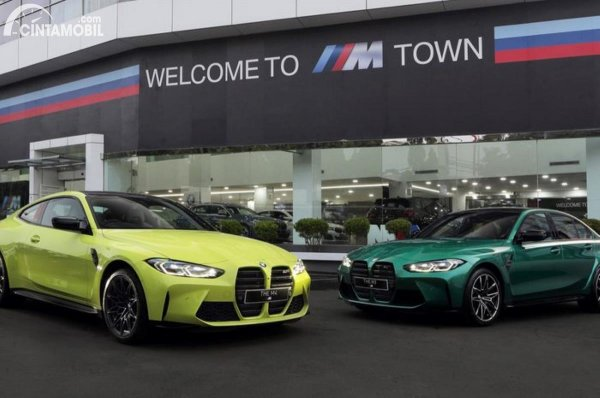 Gambar BMW M3 dan M4 Competition