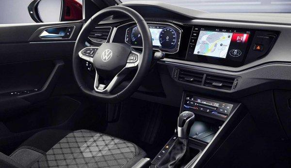 Foto menunjukkan Interior VW Taigo