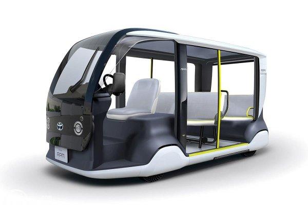 mobi listrik Toyota berawal dari konsep