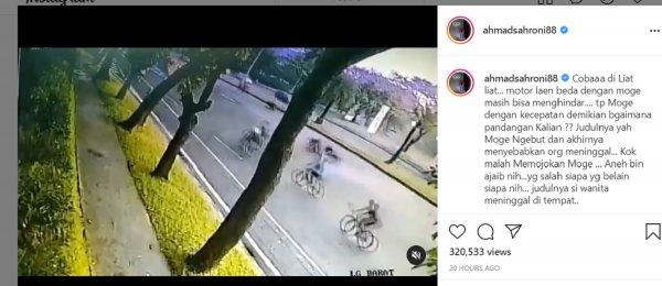 Gambar menunjukan Kecelakaan