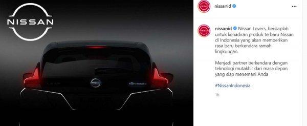 Gambar menujukan Nissan Leaf