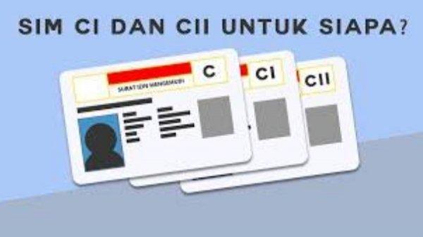 Gambar menunjukan SIM C