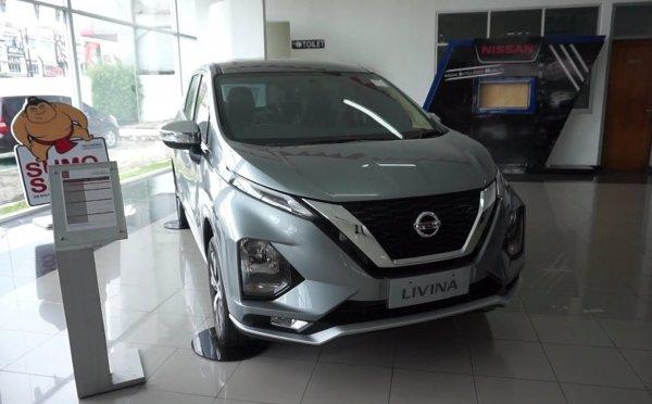 Foto All New Nissan Livina tampak depan