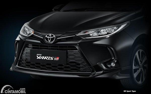 Ini Beda Toyota Yaris GR Sport dengan TRD Sportivo terbaru berwarna hitam