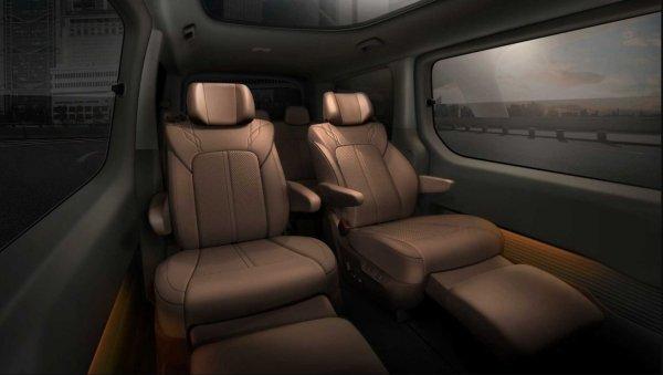 Foto Interior Hyundai Staria
