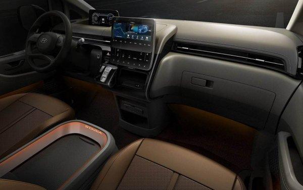 Foto Dashboard Hyundai Staria