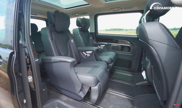 Foto Interior Mercedes Benz V Class