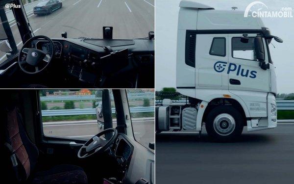gambar truk otonom
