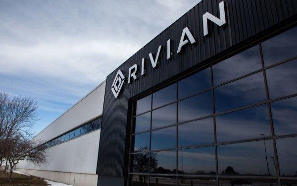 Foto Pabrik mobil listrik Rivian