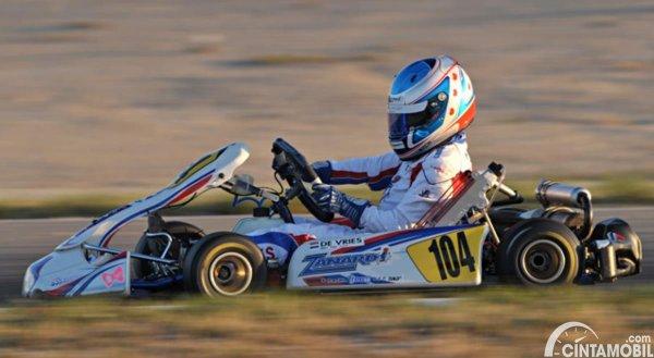 Gambar Nyck de Vries Karting