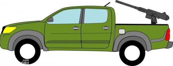 Karikatur Toyota Hilux