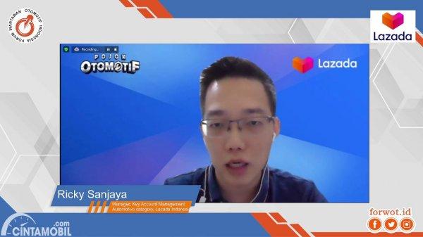 Ricky Sanjaya, Lazada Indonesia