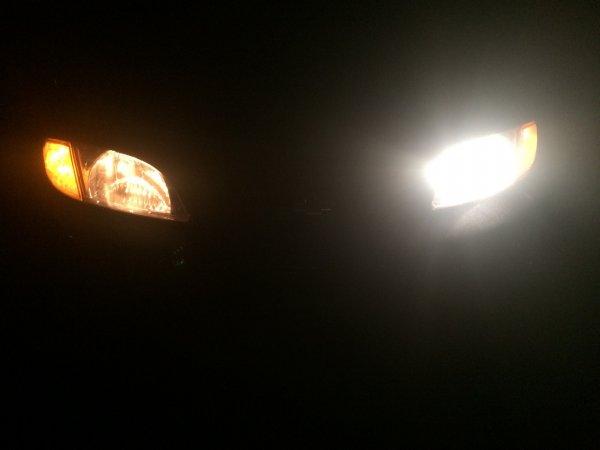 lampu mobil mati