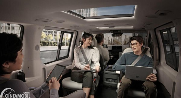 Gambar Interior Hyundai Staria
