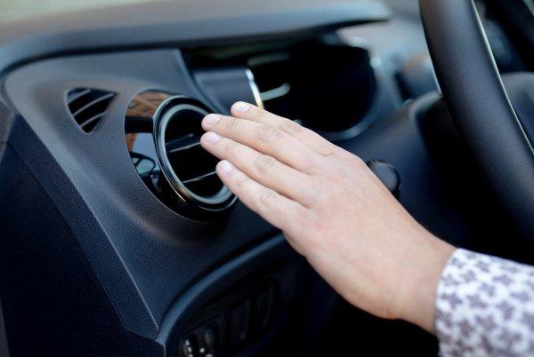 Gambar menunjukan AC mobil