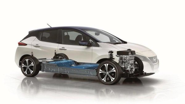 Gambar Motor Listrik Nissan Leaf